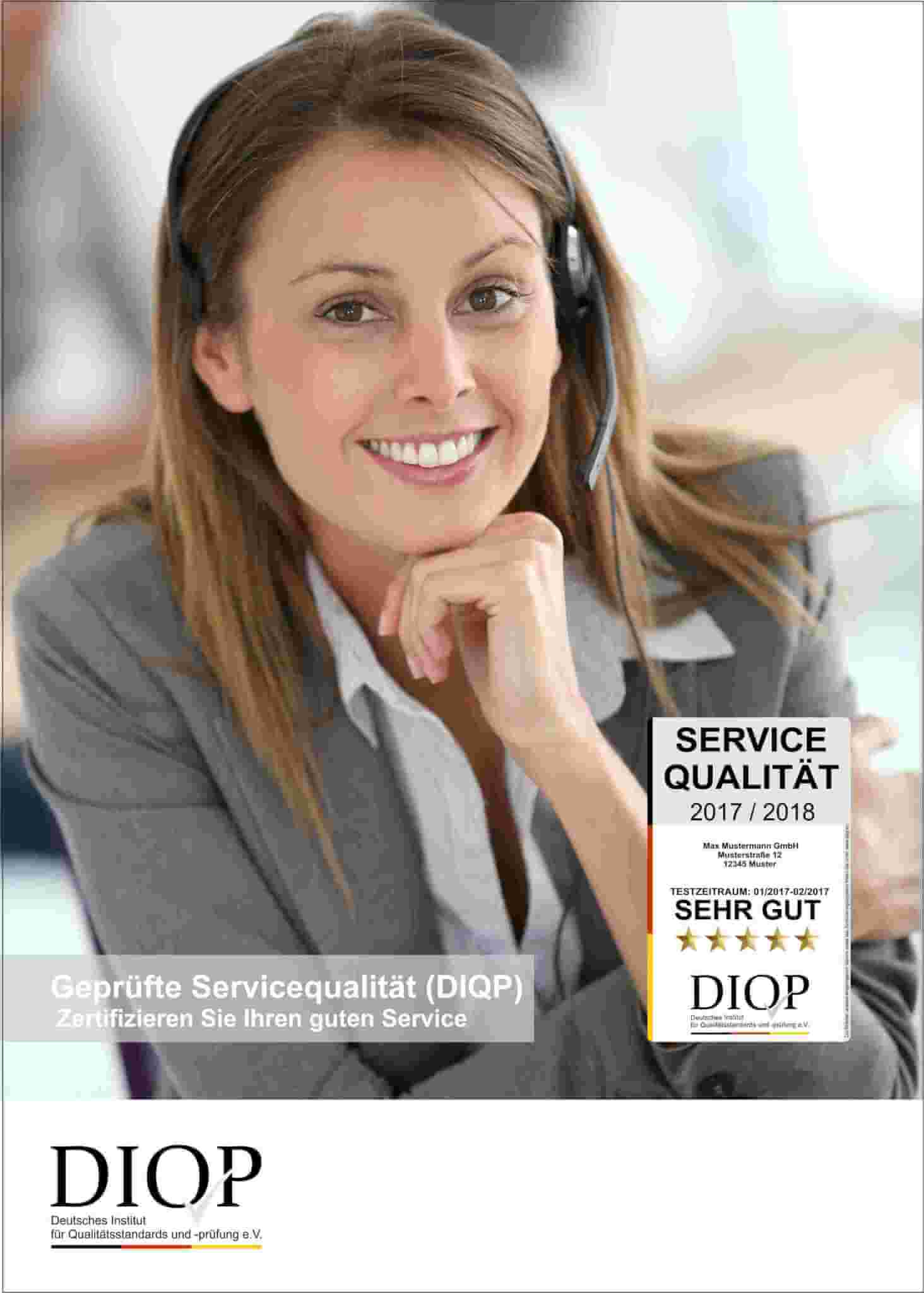 Geprüfte Servicequalität (DIQP)
