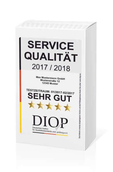 Die erhalten Sie bei einer Servicequalität Zertifizierung