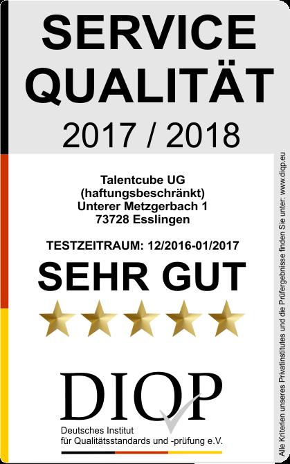 Servicequalität Siegel