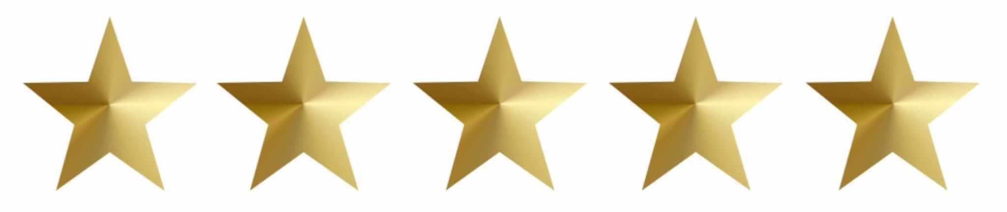Sterne für Website