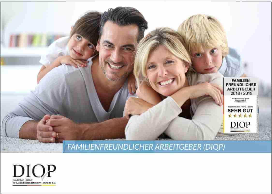 Prospekt: Familienfreundlicher Arbeitgeber (DIQP)