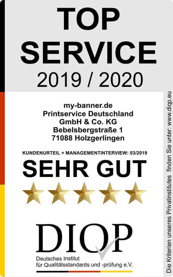 Top Service (DIQP) Siegel myBanner-klein