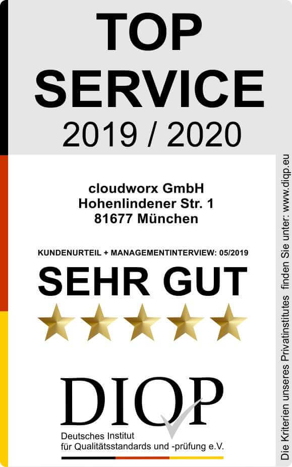 Top Service (DIQP) Cloudworx