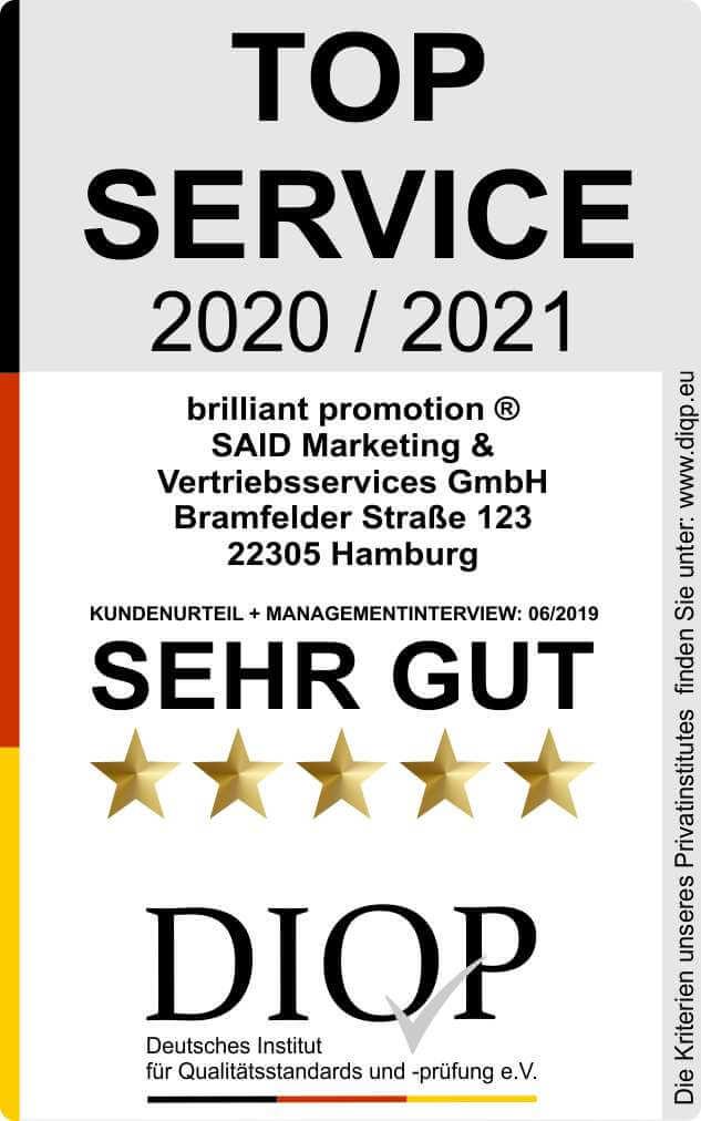 Top Service (DIQP) Brilliant Promotion 2020-2021 klein