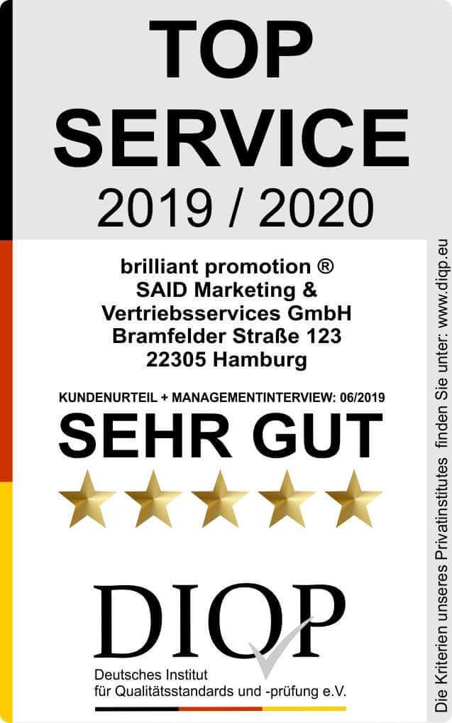 Top Service (DIQP) Brilliant Promotion klein