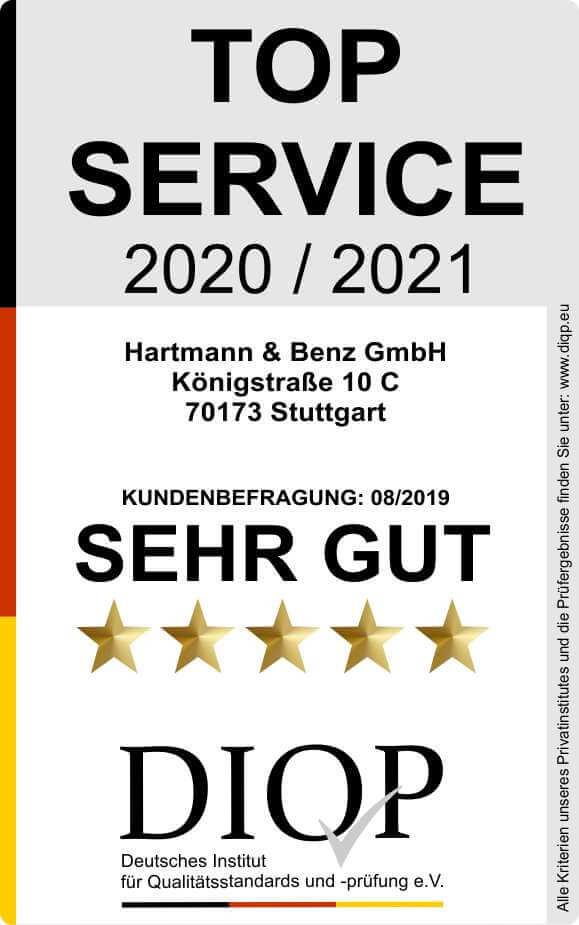 Top Service (DIQP) Siegel 2 kl