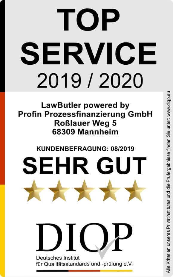 Top Service (DIQP) Siegel