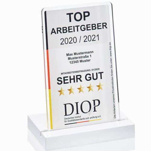 Das Top Arbeitgebersiegel des DIQP